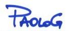 il logo di PaoloG